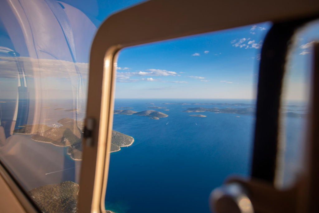 Private Helicopter flight to the Resort / Croatia
